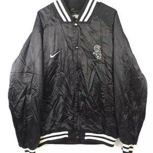 Nike Vintage Chicago White Sox Coat Black XL